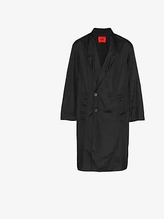 424 Address print trench coat