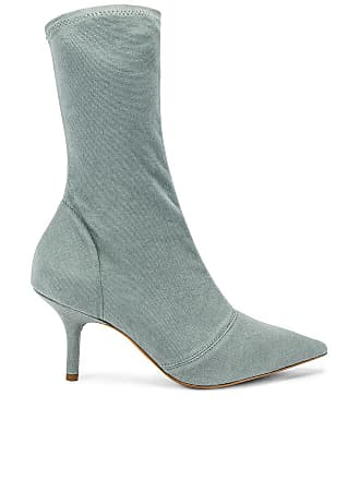 cc40d506efa Yeezy by Kanye West SEASON 8 Stretch Ankle Boot in Sage
