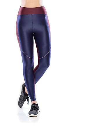 Mulher Elástica Legging Fitness Tech Fit - Azul Marinho - G