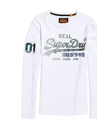 59321201f08 Superdry T-shirt met ronde hals Vintage Logo, lange mouwen