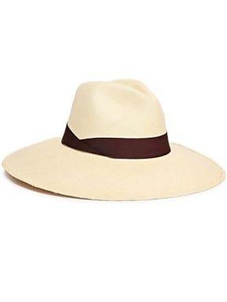 Sensi Studio Sensi Studio Woman Grosgrain-trimmed Toquilla Straw Panama Hat Ecru Size M