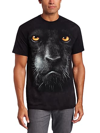 e4cf3aa4 The Mountain Blk Panther Face Adult T-Shirt, Black, Small
