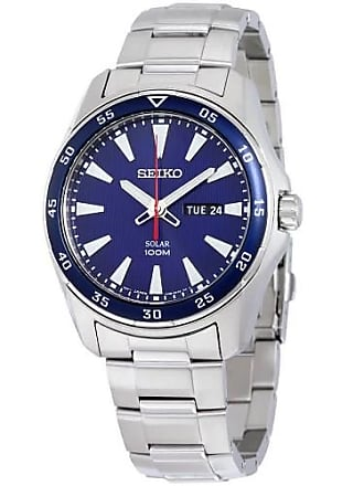 Seiko SNE391 Mens Silver Core Solar Watch