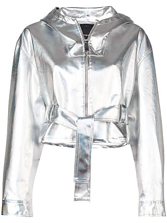 Pinko silver fitted jacket
