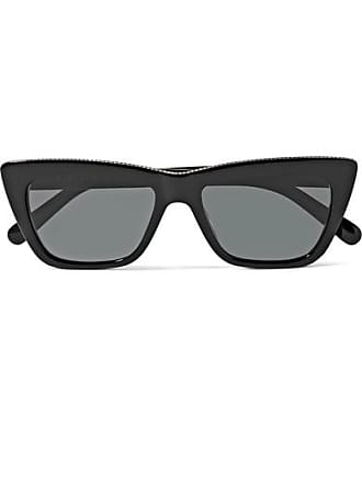 089f0de2083 Stella McCartney Chain-embellished Cat-eye Acetate Sunglasses - Black