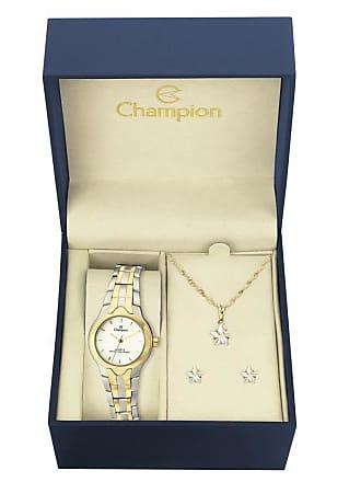 92b942f5086 Champion Kit Relógio Champion Feminino - CH25203W - Feminino