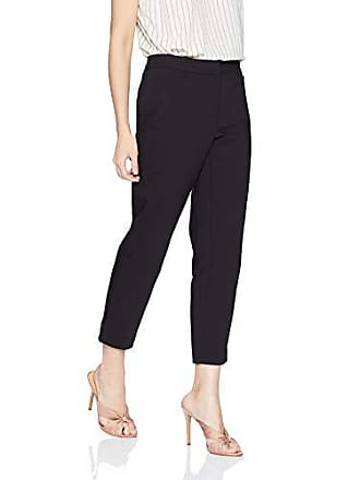 30cac89db Rafaella Womens Petite Lightweight Satin Twill Ankle Pant, Black, 14P