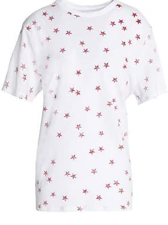Zoe Karssen Zoe Karssen Woman Printed Cotton And Linen-blend Jersey T-shirt White Size XS
