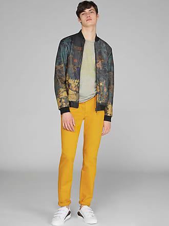 Etro Jeans Aus Stretch-denim, Herren, Gelb, Größe 30