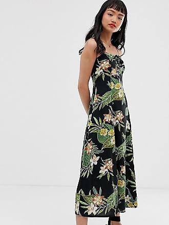 9bfbd8e4ba15 Asos Petite ASOS DESIGN Petite cami maxi dress in tropical print