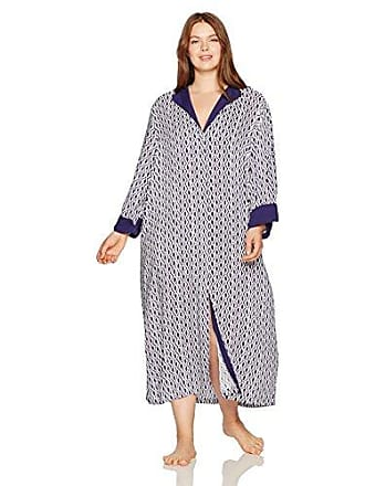 Oscar De La Renta Pink Label Womens Plus Size Damond Ikat Caftan, Diamond Print, 1X