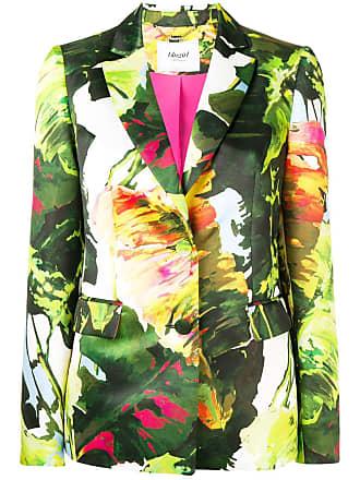 Blugirl floral fitted blazer - Green