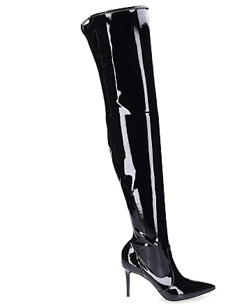 643519f19c4aaa Gianvito Rossi Stiefel IMOGEN Lackleder schwarz