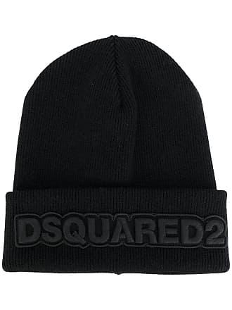 f31b328ff81 Dsquared2 logo embroidered beanie - Black