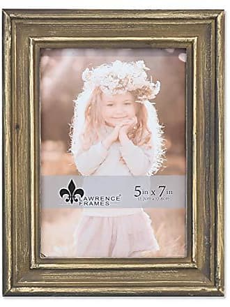 Lawrence Frames Lawrence Woods Picture Frame, 5x7, Brown