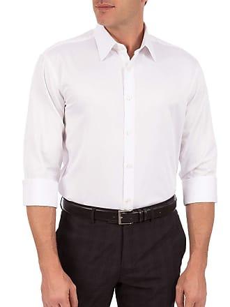 Colombo Camisa Social Masculina Branca Lisa 44093 Colombo