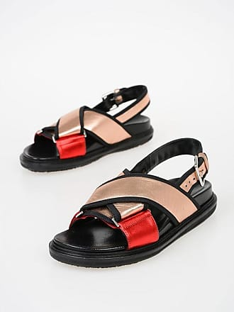 Marni Metallize Leather Sandals size 41