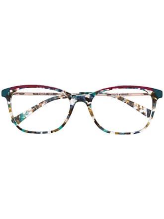 Etnia Barcelona Armação de óculos estampada - Azul