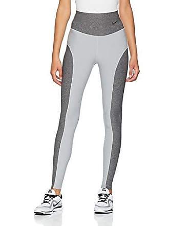 ecf377cbc01e8 Nike Womens Power Studio Tights, Wolf Grey/Heather/Dark Grey/Black,