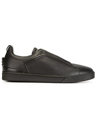 Ermenegildo Zegna lace-up sneakers - Black