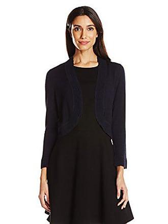 Jessica Howard Womens Separate Bolero Shrug, Navy, XL