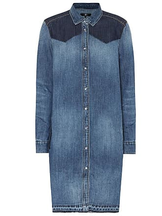 7 For All Mankind Rider denim shirt dress