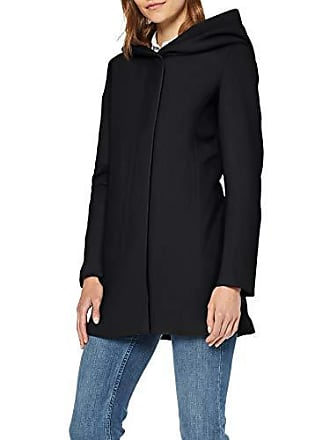 e5fc0f0514 Vero Moda Vmverodona Ls Jacket Noos Manteau, Noir Black, 42 (Taille  Fabricant:
