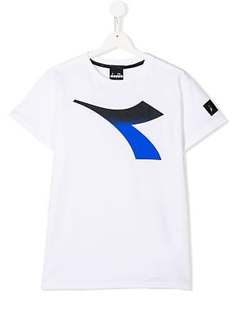 87883f16548 Diadora Camiseta com estampa de logo - Branco