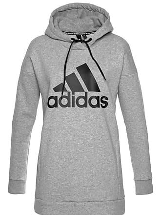 dab083584af35a adidas Kapuzensweatshirt W MH Batch graumeliert / schwarz