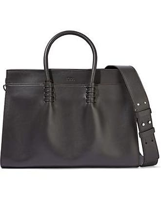 Tod's Tods Woman Ldm Leather Tote Dark Brown Size