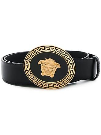 Versace Medusa buckle belt - Black