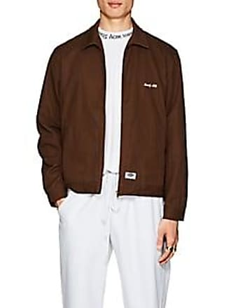 1464a24504e Dickies Mens Logo Cotton Mechanics Jacket - Brown Size S