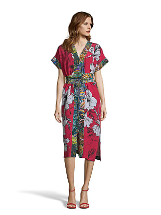 Robert Graham Womens Angelica Large Floral Print Silk Dress In Red Size: XS by Robert Graham