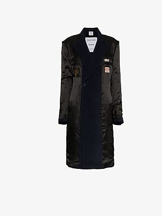VETEMENTS reversible double-breasted coat