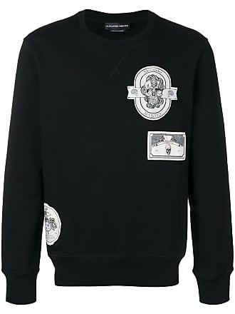 Alexander McQueen patch detail sweatshirt - Black