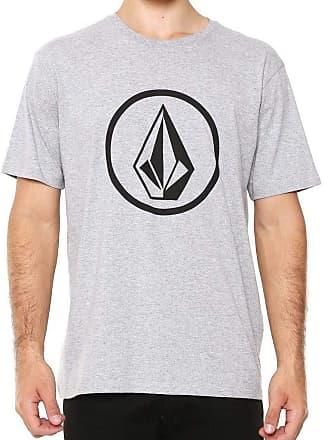 Volcom Camiseta Volcom Silk Circle Stone Cinza
