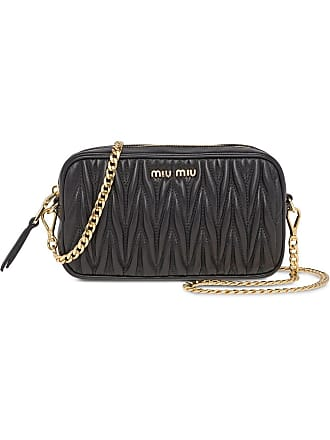 007e695f75a Miu Miu Matelassé belt bag - Black