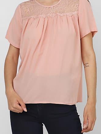Vero Moda Blusa Vero Moda Renda Rosa