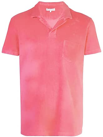 Orlebar Brown Camisa polo Terry - Vermelho