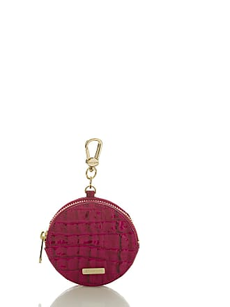 Brahmin Circle Coin Purse Fuchsia La Scala