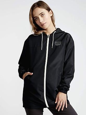 Billabong Womens Essential Parka Jacket, Black, X-Small