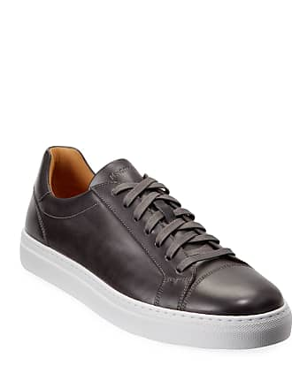 Magnanni Mens Boltan Leather Low-Top Sneakers