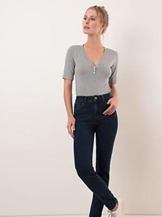 Ervadoce Calça Cigarrete Jeans Comfort