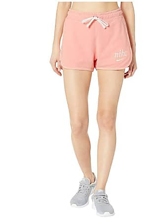 dba707a59618 Nike NSW Shorts Wash (Bleached Coral/Summit White/Summit White) Womens  Shorts