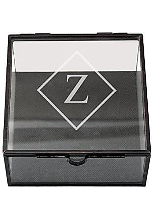 Cathy's Concepts Personalized Square Glass Shadow Box, Letter Z