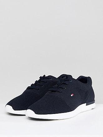 8196453f0 Tommy Hilfiger Tobias Flag Mesh Sneakers in Navy - Navy