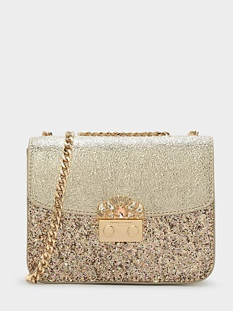 Charles & Keith Embellished Buckle Crossbody Bag