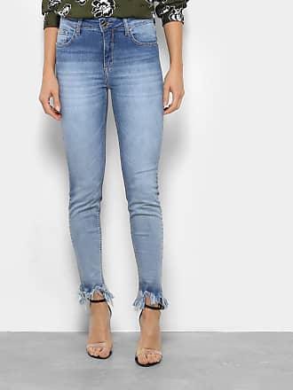0f8194c8fd Forum Calça Jeans Skinny Forum Marisa Barra Desfiada Cintura Média Feminina  - Feminino