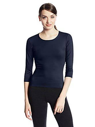 Only Hearts Womens 3/4 Sleeve Delicious Crew-Neck T-Shirt - Small - Navy