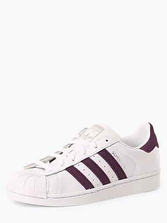 cheaper ac61c 18c12 adidas Originals Damen Sneaker mit Leder-Anteil - Superstar W weiss
